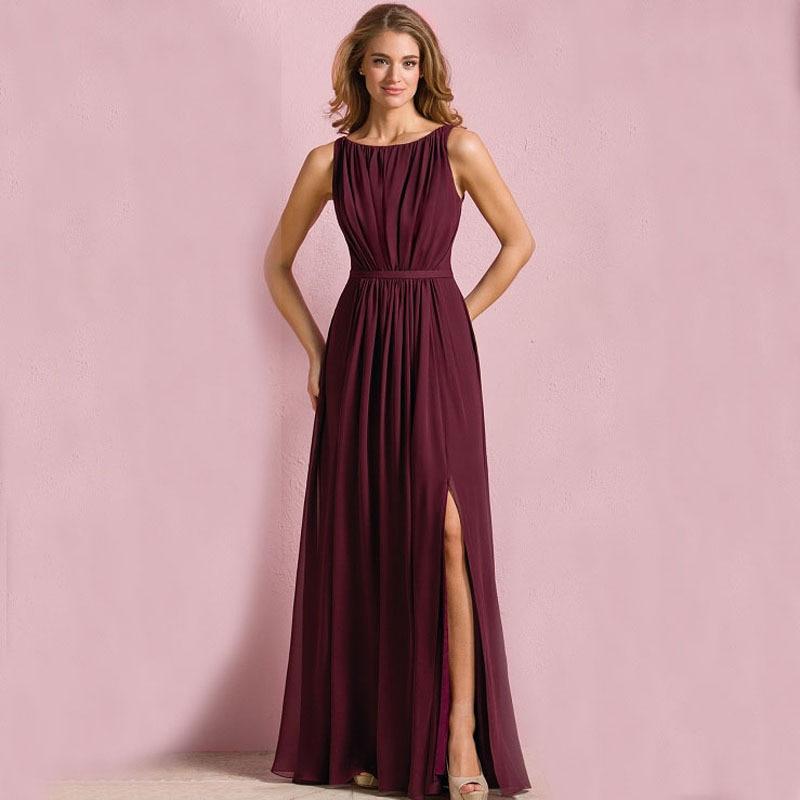 Popular Burgundy Bridesmaid Dresses Buy Cheap Burgundy