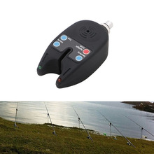 Fishing Accessories New 2 LEDs Light Fish Bite Sound Alarm Alert Bell Electronic For Fishing Rod Adjust