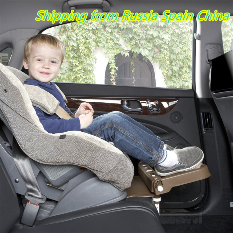 Baby car seat pedal for kids knee guard safety protective cushion holder car seat footrest booster
