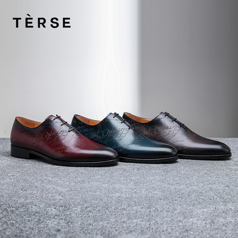cheap price hot sale online super quality US $289.0 |TERSE_handmade leather dress shoes in Dressing shoes good year  welted genuine leather oxfords shoes factory price 1515 6-in Oxfords from  ...
