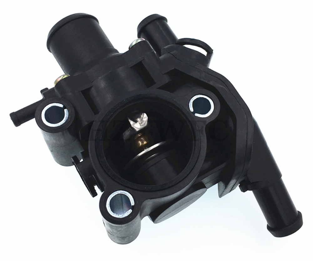 2001-2004 Mazda Tribute Beneges Water Outlet Thermostat & Housing ...