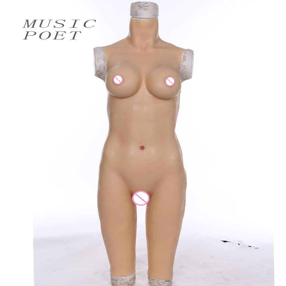 MUSIC POET realistic silicone fake breast forms crossdress transgender transsexual breasts prosthesis transvestite realistic silicone breast forms cd c cup breast form prosthesis 800g breast forms for cross dressers