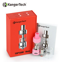 100% Originele Kangertech TOPTANK Nano Clearomizer 3.2 ml E-sap Capaciteit Top en Bottom Vullen Kanger Toptank Nano Verstuiver