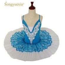 New Pattern Adult Dance Camisole Ballet Skirt Swan Lake Show Serve Children Paillette Ballet Major TUTU Skirt