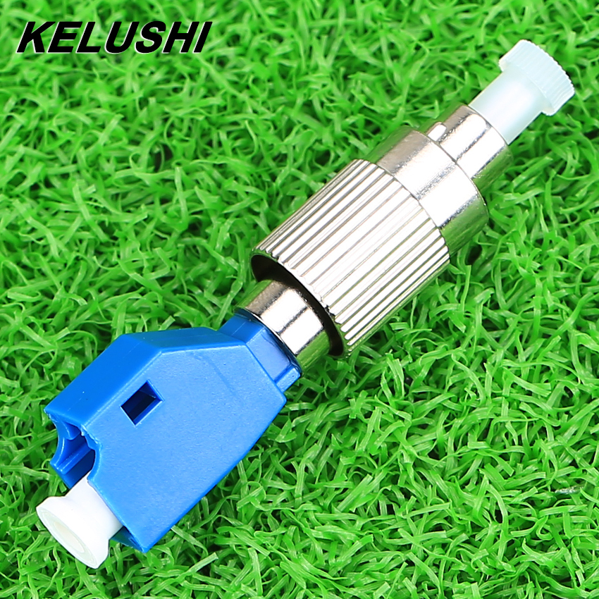 KELUSHI Visual Fault Locator Optical Power Meter Adapter 2.5mm To 1.25mm FC To LC Hybrid Adapter Single Mode Fiber Optic Adaptor