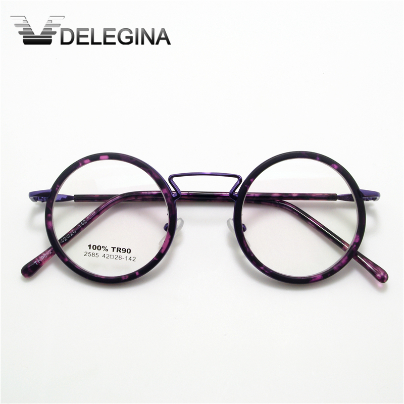 743cf9080787 High Quality Retro Round Eyeglasses frames For spectacles Vintage Nerd Glasses  Optical Frame-in Men s Eyewear Frames from Apparel Accessories on ...