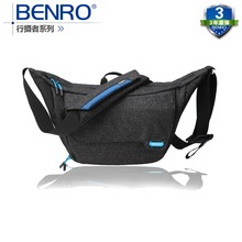 лучшая цена Benro Traveler S100 one shoulder professional camera bag slr camera bag rain cover