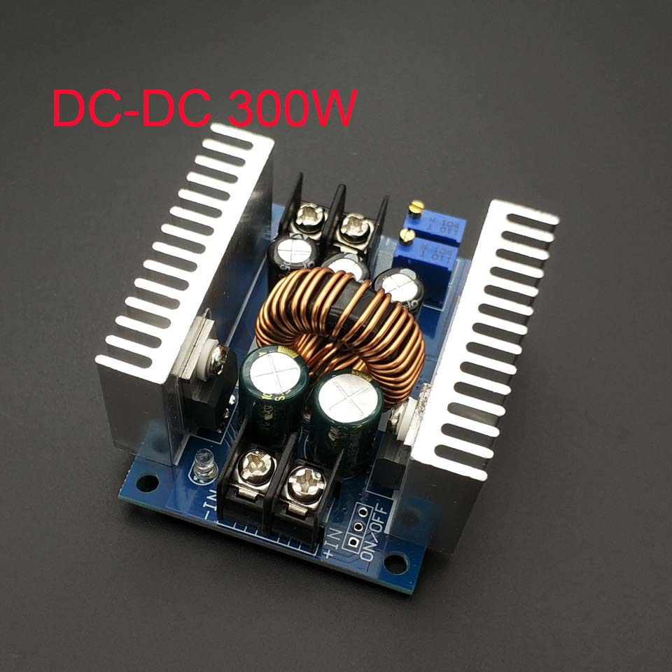 300W 20A DC-DC Buck Converter Step-down Module Constant Current LED Driver Power Step Down Voltage Module Newest