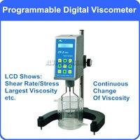 Бренд nirun цифровой программируемый вязкость метр тестер вискозиметр дисплей скорости сдвига стресс большой вязкости клей полимерная