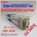 Para Impressora Oki MC332 MC342 Toner Cartridge. Redefinir Toner Para Okidata MC332DN MC342DNW MC342DN Impressora, Para Oki 332 342 Toner