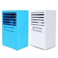 Mini Portable Silent Air Conditioner Fan Water Cooling Fan Noiseless Evaporative Air Humidifier Steaming Face for Room Office
