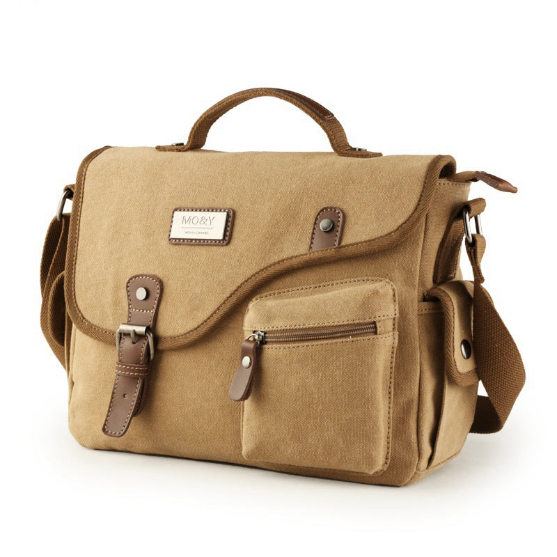 Vintage Men Messenger Bags Canvas Shoulder Bag