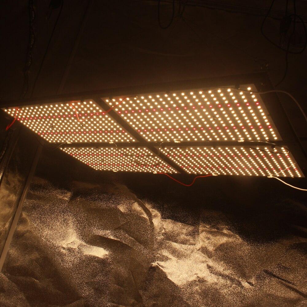 HLG Figolite crescer 500 w espectro completo regulável lm301b mix vermelho 660nm cresce a luz led placa de quantum