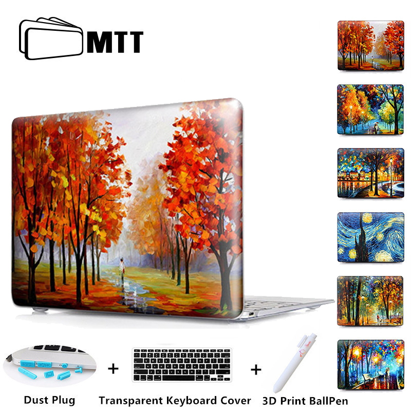 MTT Landscape Painting Laptop Cover For Macbook Pro 13 Retina Case Crystal Matte Hard Case For Mac Book Pro 15 Retina Shell architectural surfaces – details for artists architects and designers cd
