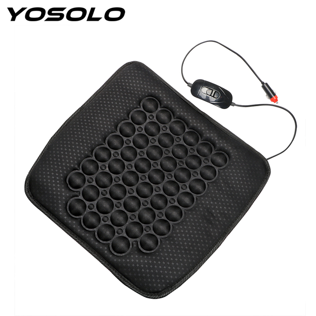 yosolo universal heater warmer car seat cushion pad massage cushionyosolo universal heater warmer car seat cushion pad massage cushion high low winter supply electric heated automobile seat cover