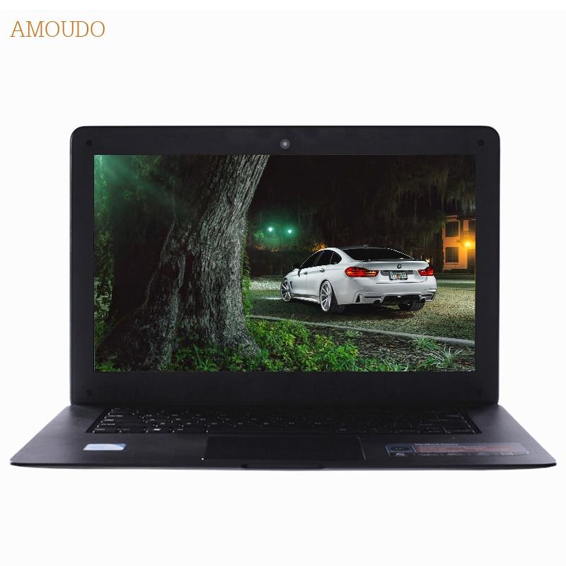 Amoudo 14inch Intel Core i5 Processor 4GB RAM 64GB SSD 750GB HDD Windows 7 10 System