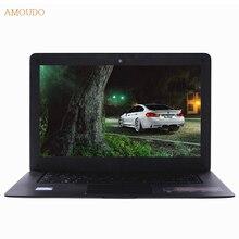 Amoudo 14 дюймов Intel Core i5 Процессор 4 ГБ RAM + 64 ГБ SSD + 750 ГБ HDD Windows 7/10 система Ультратонкий Ноутбук Ноутбук на Продажу