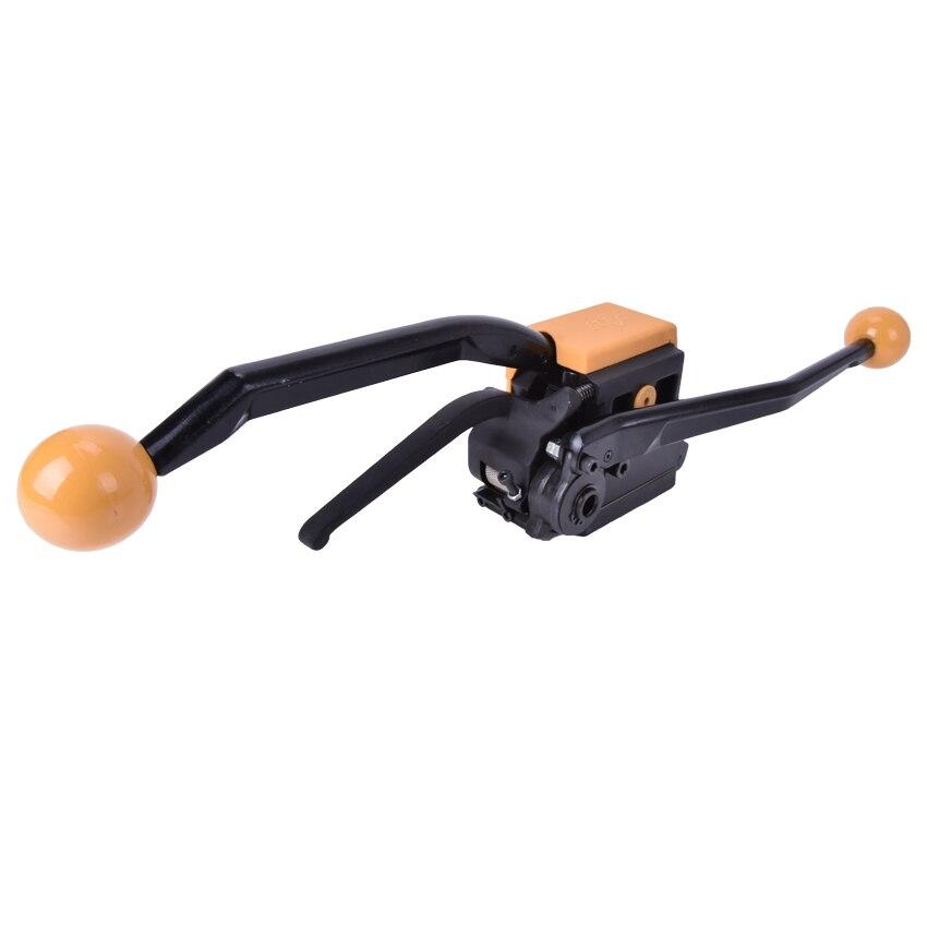 1 pces manual de aço ferramenta de cintar a333 handheld equipamento de embalagem portátil empacotador - 5