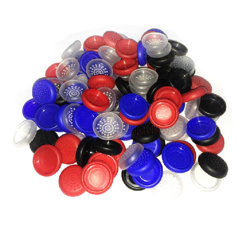 Wholesale 100pcs/lot TPU ThumbStick Joystick Grip Caps Cover For Sony PS4 / PS3 Protector Cap For <font><b>XBOX</b></font> ONE / XBOX360
