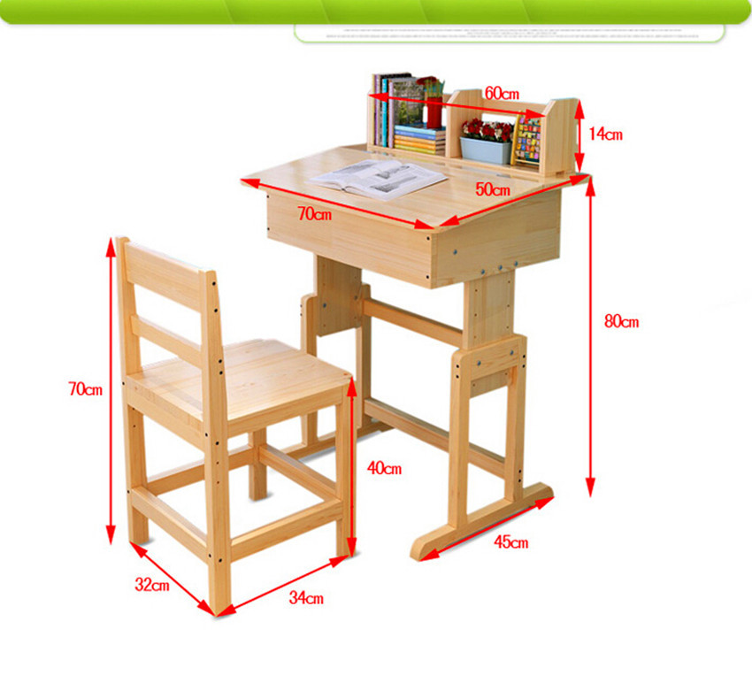Superbe Non Free Shipping Factory Direct Children Kids Wooden Study Table And Chair  Set Study Desk Set Wood Furniture For Child In Children Tables From  Furniture On ...