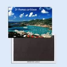 St thomas caribbean 24604 Fridge Magnet
