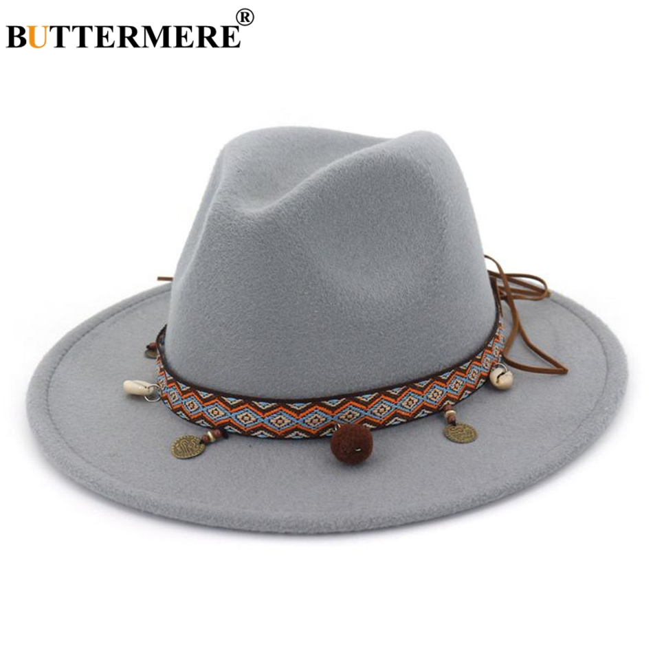 BUTTERMERE sombrero lana sombreros sombrero las mujeres elegante flor Cubo  de mujer de invierno cálido sombrero gris caquiUSD 9.69 piece 7626aff41a3