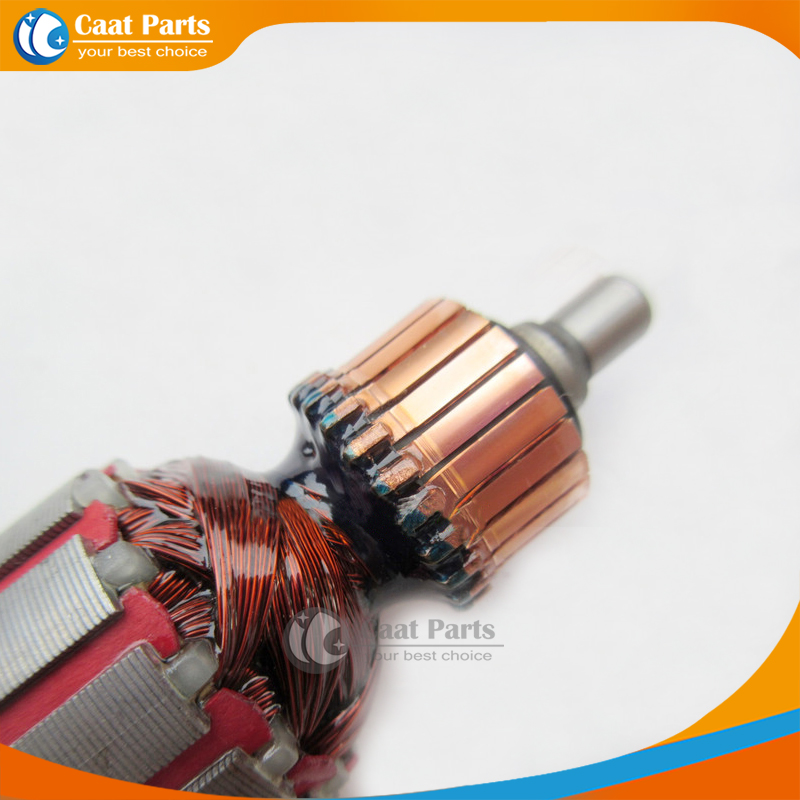 AC220-240V Rotore di armatura a martello elettrico con albero di - Accessori per elettroutensili - Fotografia 2