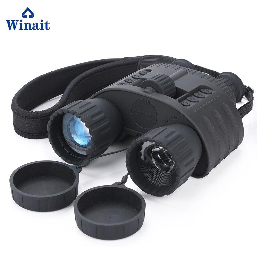 Winait HD720 Ночное видение 300 м цифровой бинокль камера с 1.5 ''tft дисплей Цифровая видео камеры телескопа