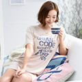 Hot Selling Sleepshirts Women Dress Sleep Homewear Elegant Women 100% Cotton Sleepshirts Sweet  Sleepwear Casual Lounge Dresses