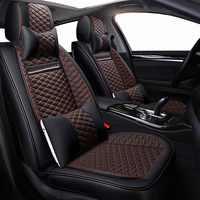 High quality PU Leather car seat covers for Ford Focus 2 3 Fushion Ranger mondeo Fiesta Edge Explore Kuga automobiles seat cover
