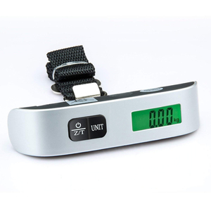 Image 3 - 110lb/50kg Luggage Scale Electronic Digital Portable Suitcase Travel Scale Weighs Baggage Bag Hanging Scales Balance Weight LCD