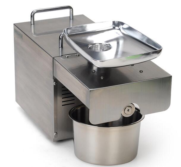 Livraison rapide 110 V 220 V en acier inoxydable machine à huile de tournesol presse à froid huile de noix de coco extracteur machine manuelle presse à huile