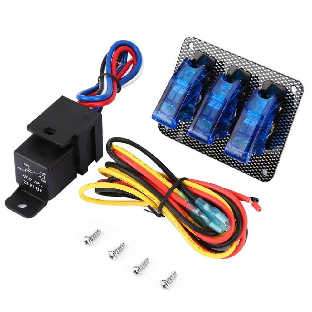 Detail Feedback Questions About Universal Car Auto Racing Turbo Race Ignition Switch Panel Wiring 12v Engine Start Push Button Led Toggle Professional For