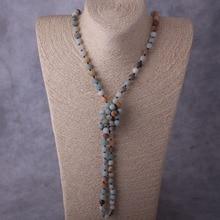 Amazonite Stones Necklace
