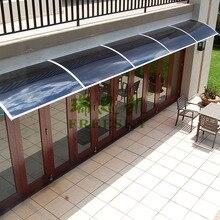 YP 100480 ALU 100x480 cm 39 x189 Depth 100cm Width 480cm Entry Door DIY Awning Polycarbonate