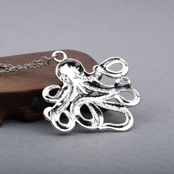Octopus Long Chain Necklace3