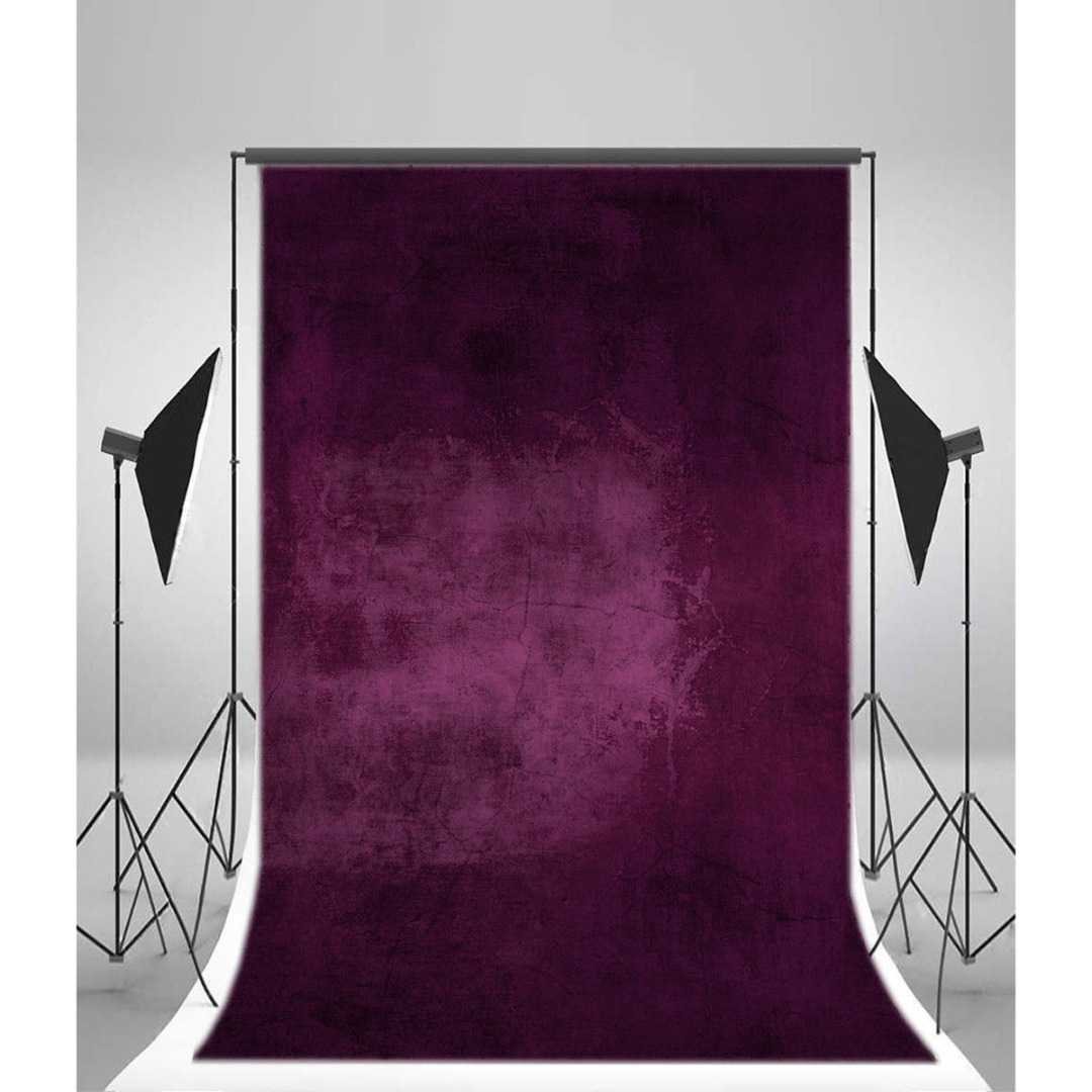 Onsale 1pc 5x7ft Purple Wall Vinyl Photography Backdrop Special Purple Photo Studio Background Props Computer Printed Mayitr mayitr 5x7ft magic dark blue mysterious photography background vinyl high quality backdrop for studio photo props