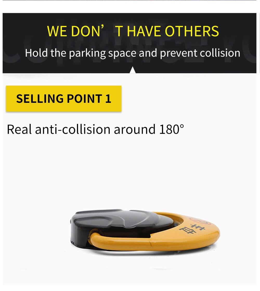 Carro de controle remoto inteligente bloqueio estacionamento