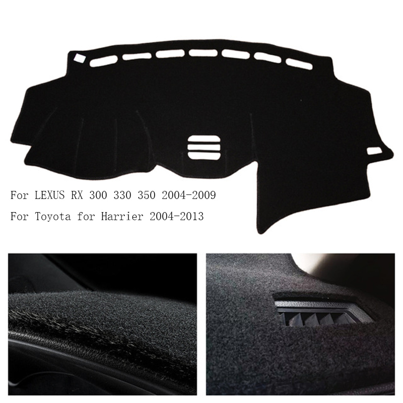Branded Dashboard Cover Dash Mat Pad Dash Carpet Protector Fit for LEXUS RX 300  330 350 2004 2009