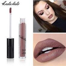 KADALADO Brand 12 Colors Hot Waterproof Lipstick Long Lasting Liquid Matte Pen Lip Gloss Cosmetics Makeup For Women