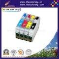 (RCE1281) пополнить картридж для Epson T1281 T1282 T1283 T1284 SX 235 Вт 420 Вт 425 Вт 430 Вт 435 Вт 440 Вт 445 Вт kcmy бесплатная доставка
