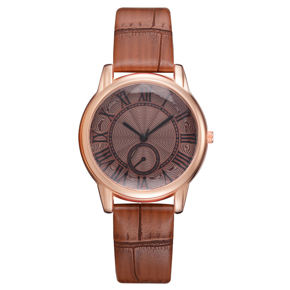 2018 New Arrival Rosefield Watches Women Fashion Luxurious Ladies Leather Imitation Pattern Quartz Analog Wrist Watches  11.17
