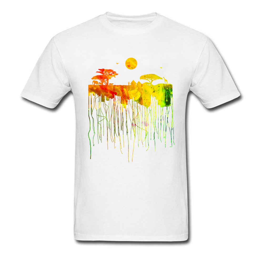 Africa Roots Rasta Color T-Shirt T Shirts