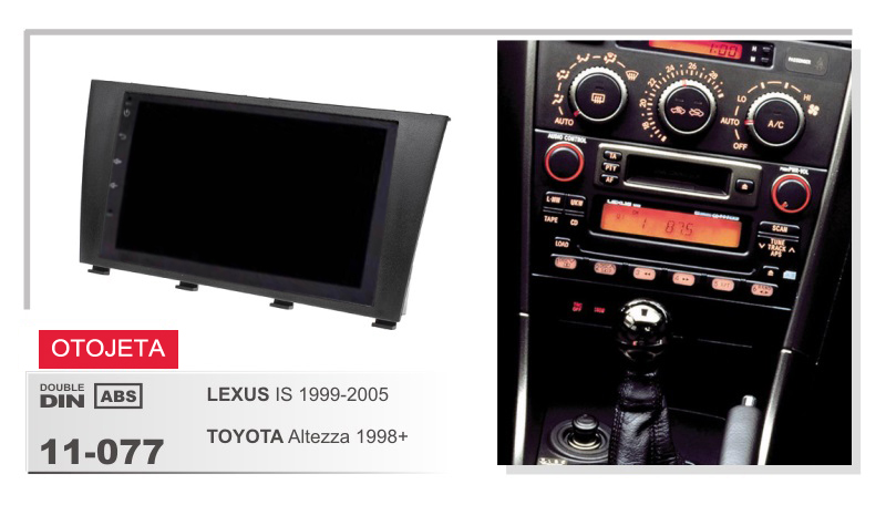 frame+<font><b>Car</b></font> DVD radio Android 7.1.1 Autoradio GPS Player Headunit for <font><b>LEXUS</b></font> IS TOYOTA ALTEZZA 1998-2005 STEREO <font><b>DVR</b></font> tape recorder image