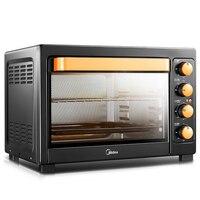 Forno elétrico multifuncional do cozimento do agregado familiar 38l com função independente da fermentação da baixa temperatura do controle de temperatura|electric oven|baking ovenoven oven -
