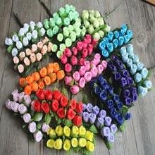 цена на 10pcs/bag Extra large polyethylene foam ball mushroom flowers for the wedding/party decorations 50*68mm 422