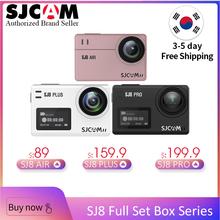 Cheap!! SJCAM SJ8 Full Set Box Series Action Camera WiFi 4K 1200mAh HD DVR Camcorder Remote Control 30m Waterproof Sports Camera