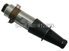 2000W/20khz Ultrasonic Welding Transducer + horn,2000W high power ultrasonic transducer