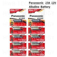 Atacado 10 pçs/lote novo 12 v panasonic a23 23a bateria ultra alcalina/alarme baterias frete grátis