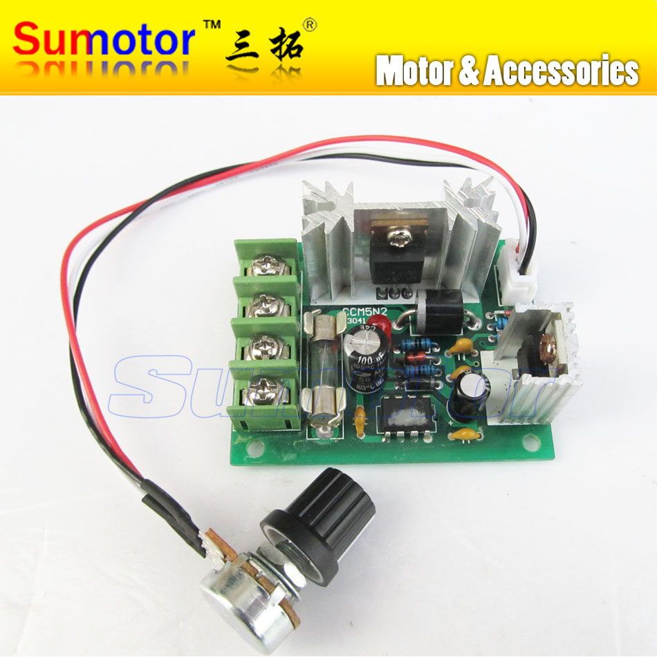 25a 12v 30w 24v 60w Adjuster Regulator Pwm Speed Controller Pulse Diy Circuit Design Width Modulation Modulator Governor Dc Brush Motor Regulate Switch In From Home